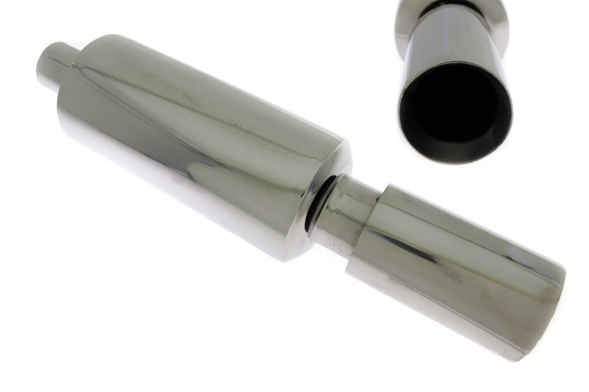 Tłumik Końcowy TurboWorks 100mm wejście 63,5mm - GRUBYGARAGE - Sklep Tuningowy